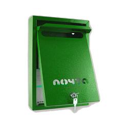 Почтовый ящик Альфа Люкс (зеленый)