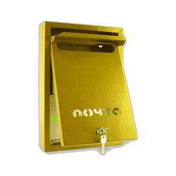 Почтовый ящик Альфа Люкс (желтый)