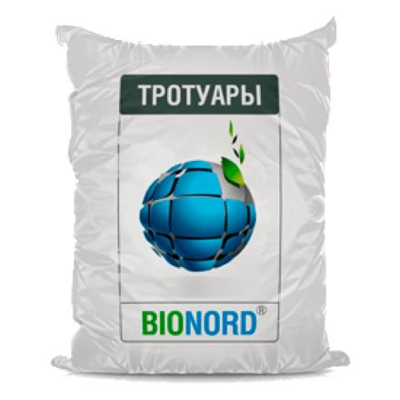 Противогололедный реагент Бионорд тротуары  25 кг