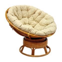 Кресло Papasan (цвет коньяк)
