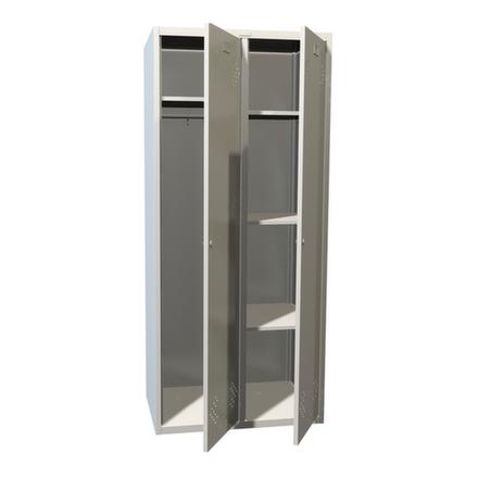 Шкаф для одежды ПРАКТИК LS 21 U