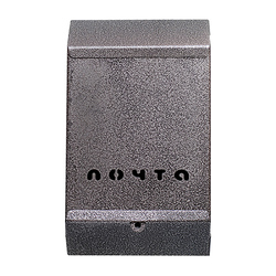 Почтовый ящик (серебро) без замка