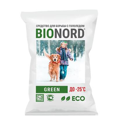 Противогололедный реагент Бионорд GREEN 23 кг