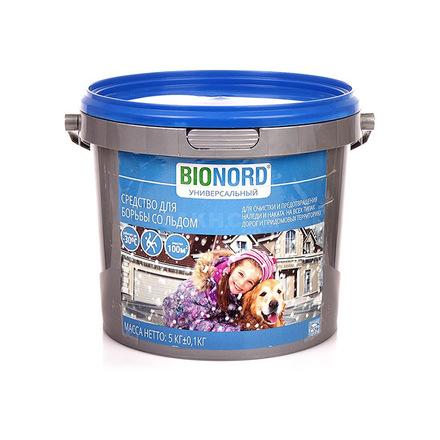 Противогололедный реагент Бионорд универсальный 5 кг