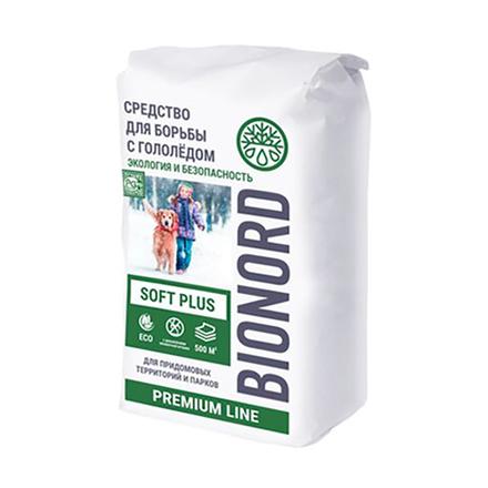 Противогололедный реагент Бионорд SOFT PLUS 25 кг