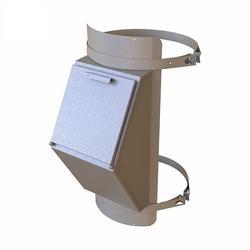 Клапан мусоропровода загрузочный КМЕ-400, h=860, 1мм