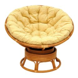 Кресло Papasan Matte (Коньяк)