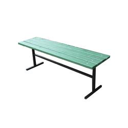Скамейка уличная без спинки УС01 (L 04)