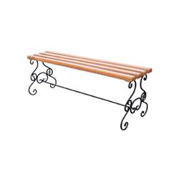 Кованая скамейка (арт 1.0)