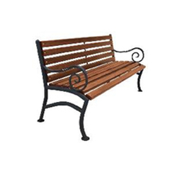 Кованая скамейка (арт 2.0)