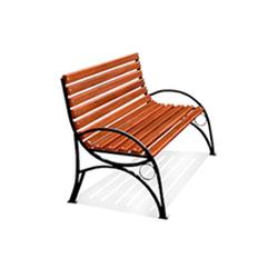 Кованая скамейка (арт 4.0)