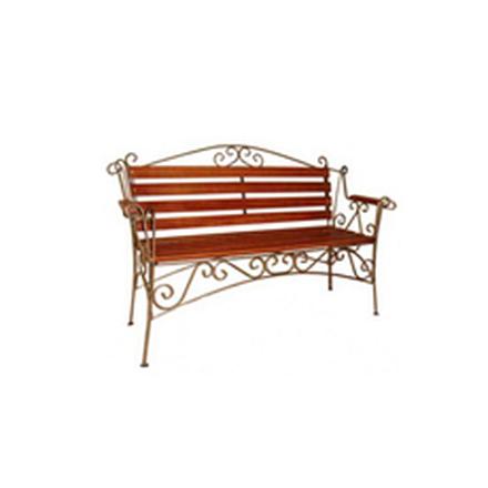 Кованая скамейка (арт 8.0)