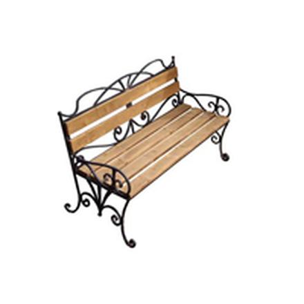 Кованая скамейка (арт 9.0)
