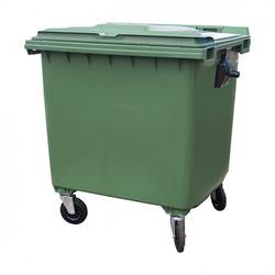 Мусорный контейнер MGBК 1100 зеленый