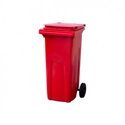 Мусорный контейнер МКТ 120 красный
