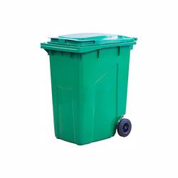 Мусорный контейнер МКТ 360 зеленый