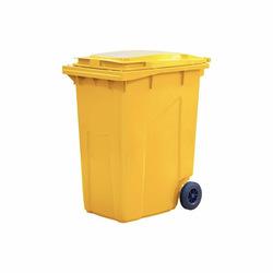 Мусорный контейнер МКТ 360 желтый