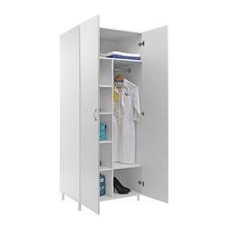Шкаф для одежды MW-2 1980 (белое дерево)