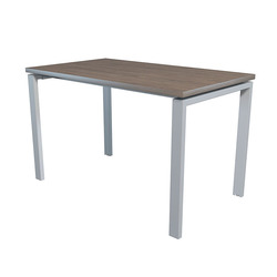 Стол NT 120x70 темный орех/серый