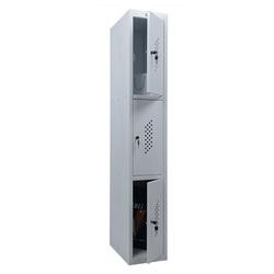 Шкаф для раздевалок ПРАКТИК ML 13-30 (базовый модуль)