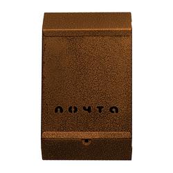 Почтовый ящик (бронза) без замка