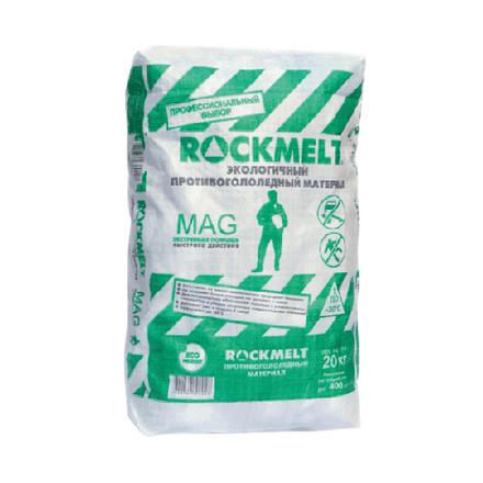 Противогололедный реагент ROCKMELT (Рокмелт) MAG 20 кг