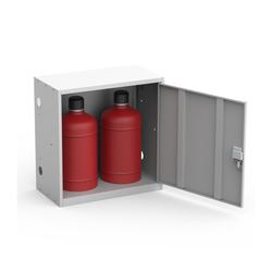 Шкаф для двух газовых баллонов на 27 литров ШГР 27-2