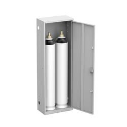 Шкаф для двух газовых баллонов на 40 литров ШГР 40-2