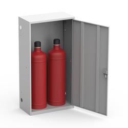 Шкаф для двух газовых баллонов на 50 литров ШГР 50-2