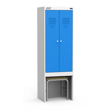 Металлический шкаф для одежды ШРЭК 22-530 ВСК
