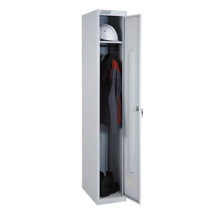 Металлический шкаф для одежды ШРС 11-400