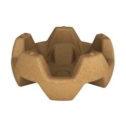 Вазон Flox песочный гранит