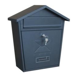 Почтовый ящик ВН 21 матовый черный